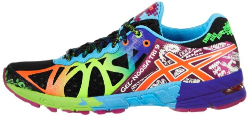 Discount Code For Mens Asics Gel-noosa Tri 9 - Products 1381955 Asics Women S Gel Noosa Tri 9 Running Shoe Black Neon Coral Green 8 M Us