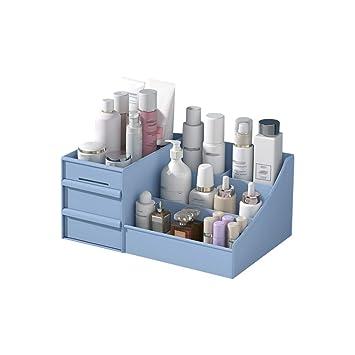 Caja organizadora de maquillaje, cajones de maquillaje de plástico ...
