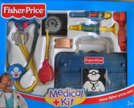 Fisher Price Medical Kit Blue Model