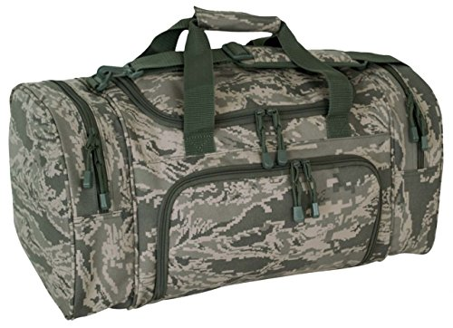 (Code Alpha Tactical Gear Locker Bag, Air Force Digital Camouflage, 21in.x11)