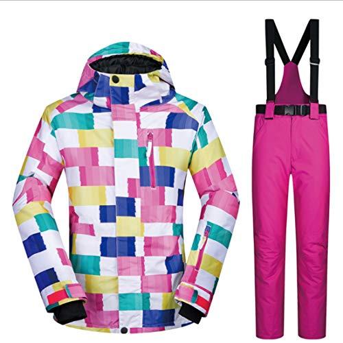 E Pantaloni Shizheshop Traspiranti 07 Snowboard Donna Da Size Per S Impermeabili Giacca color 07 xqnTqt