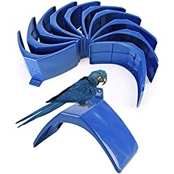 YUELIANG 10Pcs Dove Rest Stand Frame Grill Dwelling Pigeon Perches Roost Bird Supplies Pet Supplies