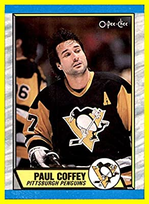 1989-90 O-Pee-Chee #95 Paul Coffey PITTSBURGH PENGUINS