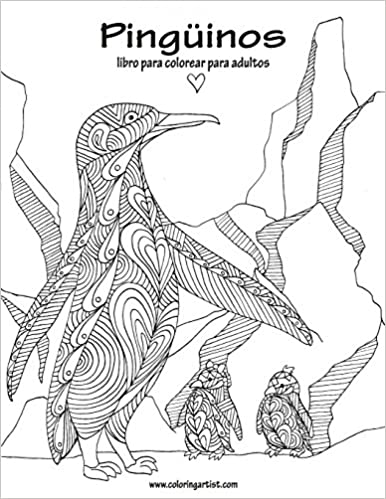 Amazon.com: Pingüinos libro para colorear para adultos 1 (Volume 1 ...