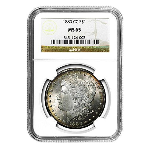 1880 CC Morgan Dollar $1 MS-65 NGC