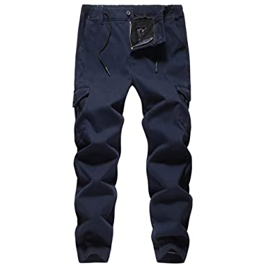 Monos de Casual Pantalones para Hombre, Pantalones de Chándal ...