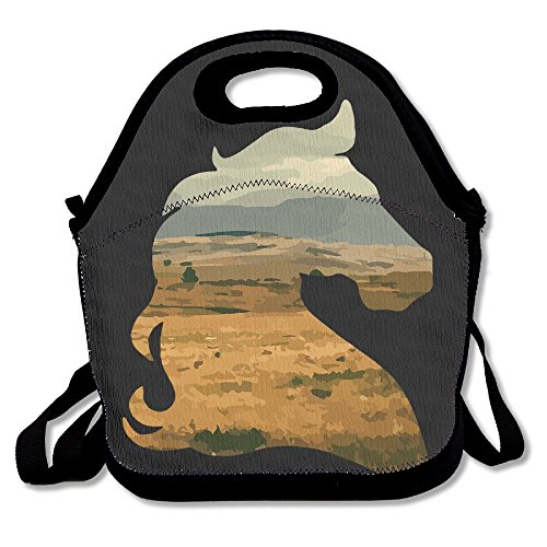 Tesu Bags Cool Horse Outdoor/Travel/Picnic Lunch Bag