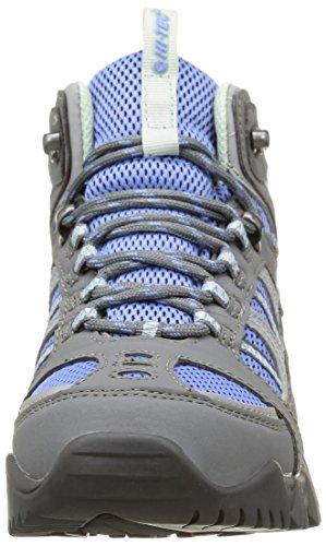 Hi-Tec Bryce Ii Wp - Zapatillas de senderismo Mujer Azul - Bleu (Graphite/Cornflower/Sprout)