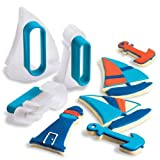 Cuisipro Blue Nautical Cookie Cutters