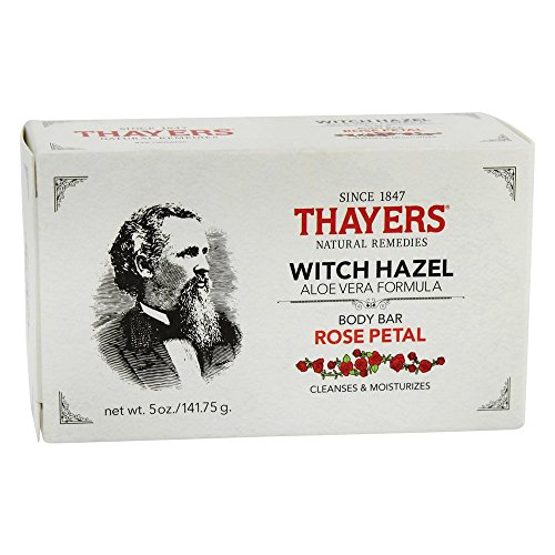 Thayers - Body Bar Soap with Witch Hazel and Aloe Vera Rose Petal - 5 - Mall Stores Place Main