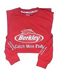 Berkley Red Long Sleeve Fishing Shirt