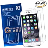 Nicety Screen Protector Compatible with Apple iPhone 8 7 6s 6 Set of 2 Tempered Glass Ultra Thin Anti-Scratch Bubbles Free Maximum Protection