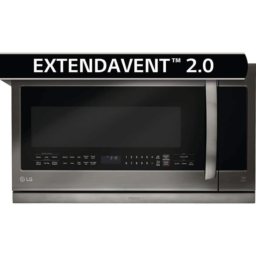 LG LMHM2237BD 2.2 cu. ft. Over-the-Range Microwave Oven with EasyClean by LG (Image #2)