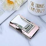 Lindenle Womens Minimalist Slim Wallet RFID