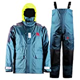 Navis Marine Waterproof Sailing Jacket and Bib Pants Fishing Foul Weather Gear Rain Suit
