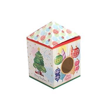 Amazoncom Espicades 50 Pcs Christmas Series House Shaped