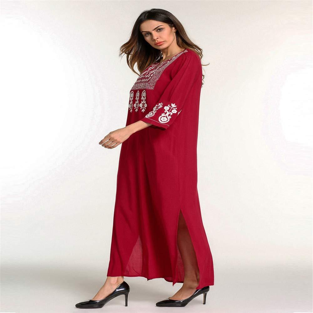 cc14b7939 Cvbndfe Cómodo Vestidos Musulmanes del Medio Oriente Falda Larga ...
