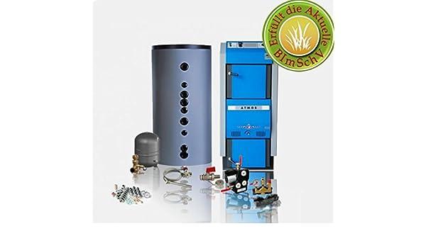Tronco Madera Carburador/madera Carburador Caldera Atmos DC GSX 70 - 70 kW - Sistema completo: Amazon.es: Bricolaje y herramientas