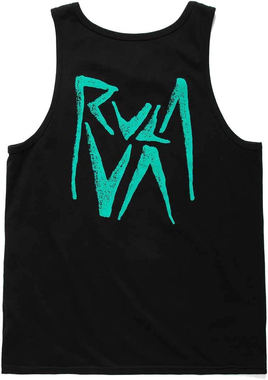 RVCA Mens Mako Tank Top T-Shirt