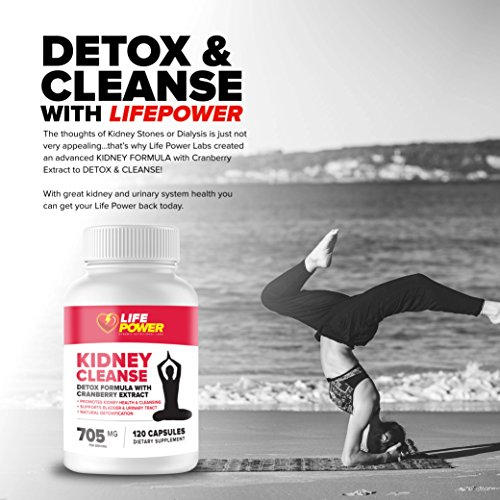 Life-Power-Labs-Natural-Kidney-Cleanse-Supplement-Detox-and-Support-Formula-with-Cranberry-Extract-Promotes-Kidney-Health-Cleansing-Support-Bladder-and-Urinary-Tract-120-Vegetarian-Capsules