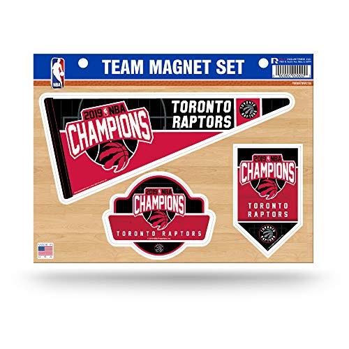 - Rico Industries NBA Toronto Raptors 2019 Basketball Champions Die Cut Team Magnet Set Sheet