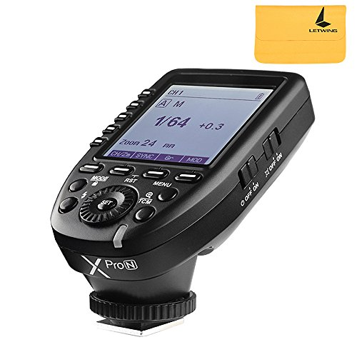 GODOX XPro-N Flash Trigger With Professional Functions Support i-TTL Autoflash For Nikon DSLR Camera