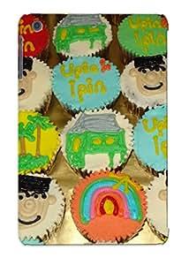 Tpu Ambleihp Shockproof Scratcheproof Jasmine Kitchen Of All Thing Nice Upin And Ipin Medium Cupcakes Hard Case Cover For Ipad Mini/mini 2