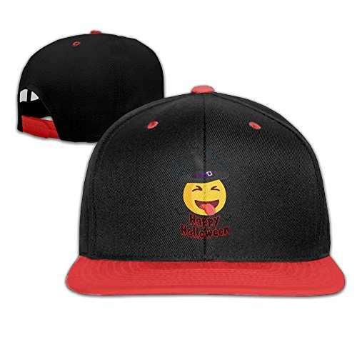Mr Xionghua Kids Happy Halloween Funny Smiley Face Wizard Hat Hip Hop Baseball Cap Boy (Baseball Smiley Face)