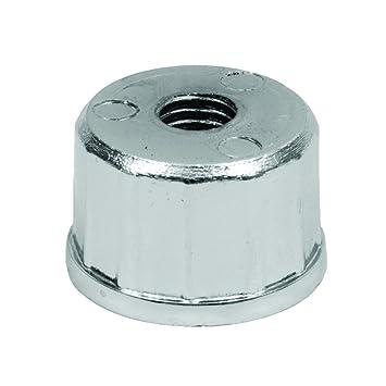 Tal mazo tapón con Orificio Rosca M10 Tubo Redondo de 16 - 25 - 32 mm rueda: Amazon.es: Bricolaje y herramientas