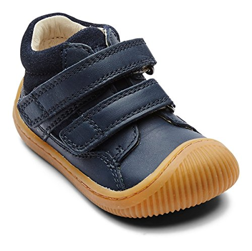 Red Kids Walk Navy Bundgaard Shoe Velcro wzIqOTd