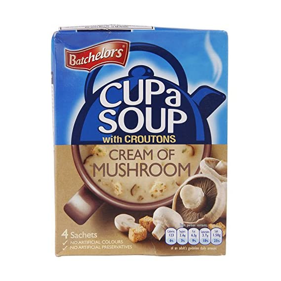 Batchelors Cup a Soup, Mushroom and Croutons, 99g