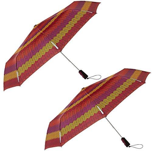 Totes Umbrellas Scotch Windproof Resistant