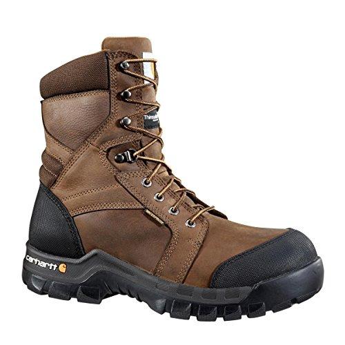 - Carhartt Footwear CMF8089 Rugged Flex 8-Inch Work Boot - 13 M - Dark Brown