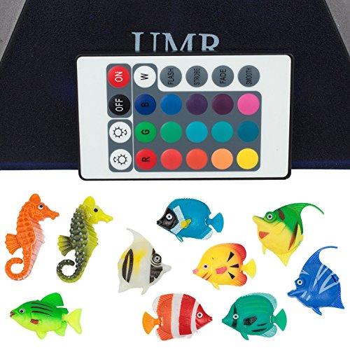 Umr Sensory Bubble Tube Floor Lamp W 10 Fish 20 Color