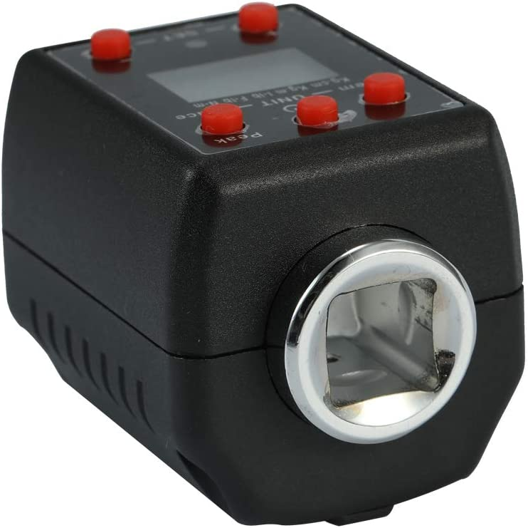 KKmoon Medidor digital de par de torsi/ón con destornillador y pantalla digital electr/ónica de alta precisi/ón 1.35-135Nm