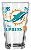 Miami Dolphins Official NFL 16 fl. oz. Spirit Pint Glass …