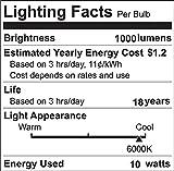 10W LED 2G11 4-Pin Base PL Lamp Lustaled 120V