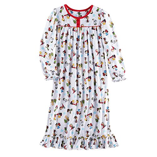 Girls Christmas Nightgown - 4