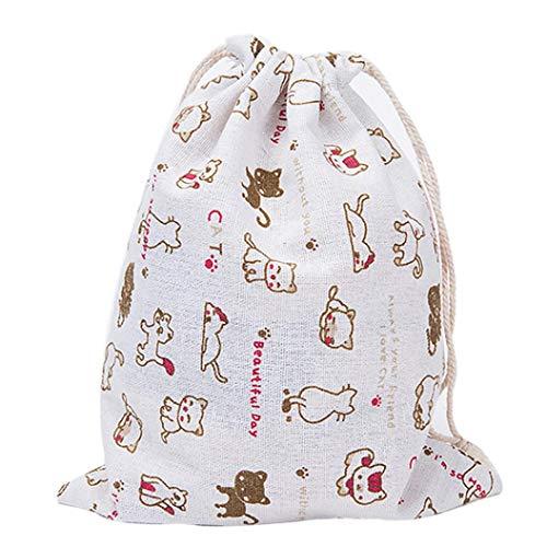 Backpack Unisex Backpacks VPASS Drawstring Gymsack Sizes Sports School Bags Casual Drawstring 3 Gym Fashion Printing f5qnW5ap7