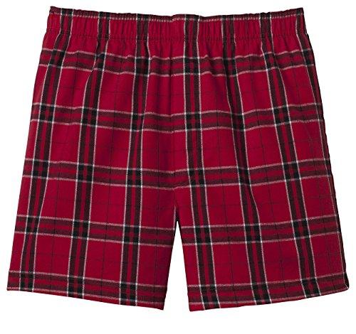 Joe's USA(tm) - Mens Soft & Cozy Plaid Flannel Pajama Boxer Shorts . XS-4XL