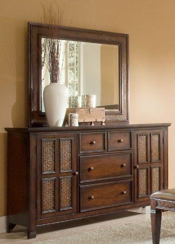 Progressive Furniture Kingston Isle Door Dresser, 66