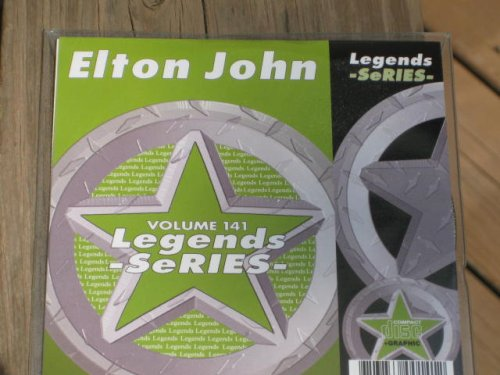 LEGENDS Karaoke CDG Vol.141 All Choice Hits of ELTON JOHN Vol.2