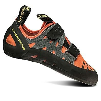 La Sportiva Men's Tarantula Beginner Rock Climbing Shoe, Flame, 35 M EU