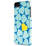 Incase Hearts Snap Case for iPhone 5 - Pop Hearts Blue - CL69183