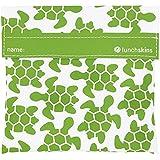 Lunchskins Reusable Velcro Sandwich Bag, Green Turtle
