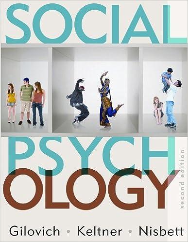 Amazon social psychology second edition 9780393932584 tom amazon social psychology second edition 9780393932584 tom gilovich dacher keltner richard e nisbett books fandeluxe Choice Image