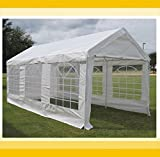 20'x10′ PE Party Tent (2010T) – Water Resistant Wedding Carport Canopy Gazebo – with Storage Bags – By DELTA Canopies Review