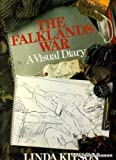 Front cover for the book The Falklands War: A visual diary by Linda Kitson