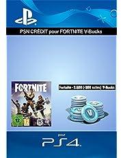 Crédit PSN pour Fortnite - 2.500 V-Bucks + 300 extra V-Bucks - 2.800 V-Bucks DLC   Code Jeu PS4 - Compte français