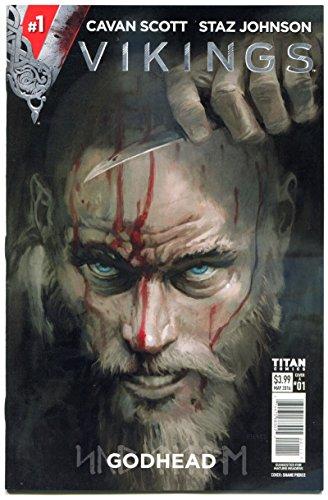 VIKINGS GODHEAD #1 2 3 4, NM, Ttian, Ragnar, Rollo, Lagertha, 2016, 1-4 set A